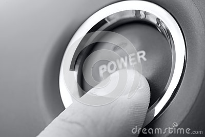 Push power button