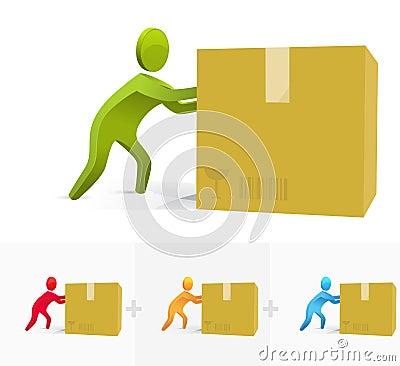 Pushing the box