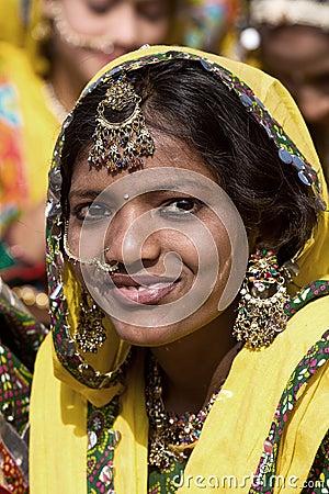Pushkar Fair ( Pushkar Camel Mela ) Rajasthan, India Editorial Photo