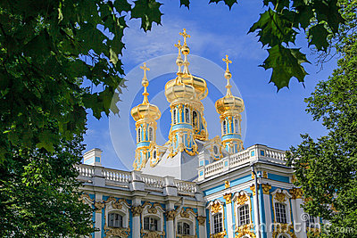 Pushkin Palace Towers