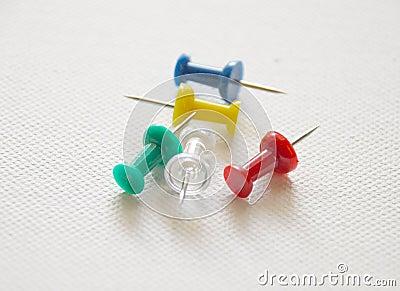 Pushpins- assorted