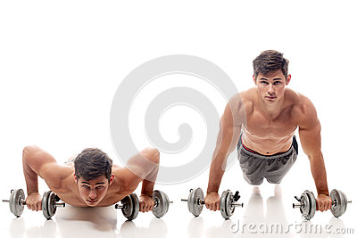 Pushup exercise