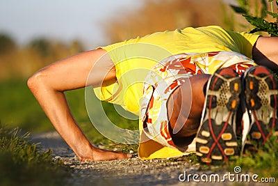 pushups man