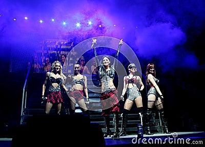 Pussy Cat Dolls Concert Editorial Photo