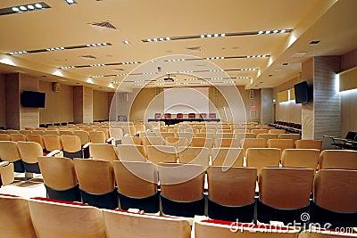 Pusta konferenci sala