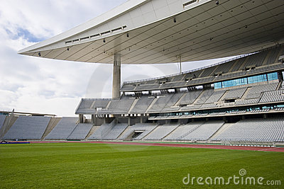 Pusty stadionie