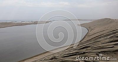 Pustynia i morze zbiory wideo