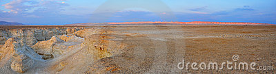 Pustynny Israel panoramy yehuda