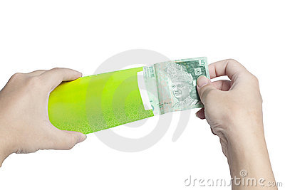 Put Money into Green Packet