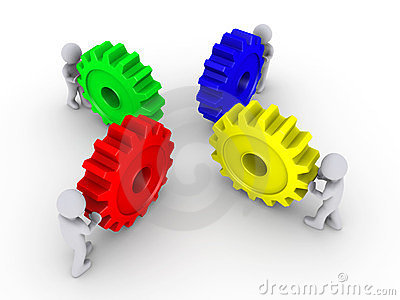 Put the right cogs together