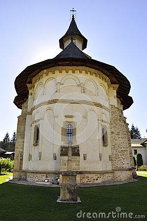 Putna Monastery, UNESCO monument, Romania Editorial Image