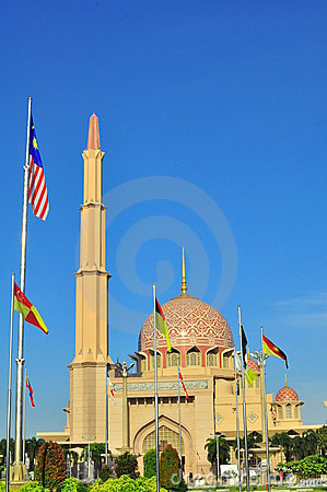 Free Putra Mosque Stock Photography - 22569812