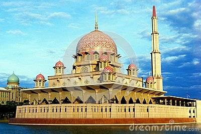 Putra Mosque Editorial Image