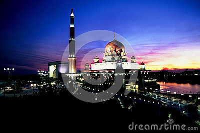 Putra Mosque Editorial Photography