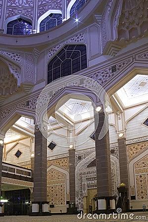 Free Putra Mosque Interior Stock Photos - 14088993