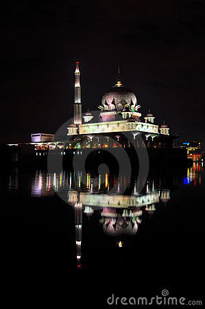 Putra Mosque Night View