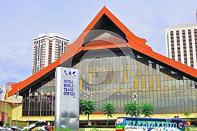 Putra world trade centre Editorial Stock Image