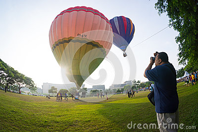 Hot Air Balloon Fiesta Editorial Image