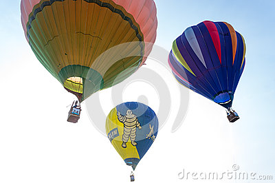 Hot Air Balloon Fiesta Editorial Stock Image