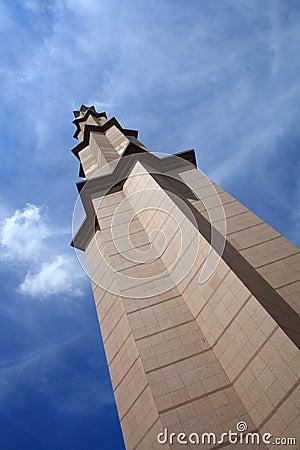 Putrajaya Mosque pillar,Kuala Lumpur