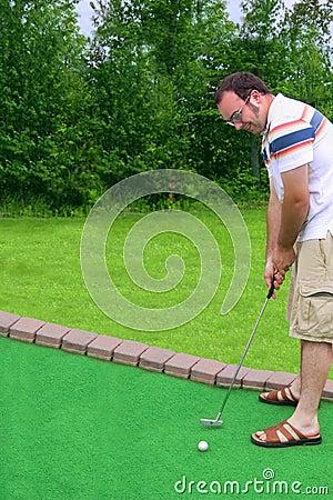 Free Putt Putt Golf Royalty Free Stock Photo - 2946155