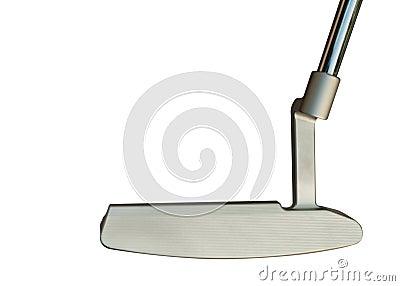Putter del club de golf