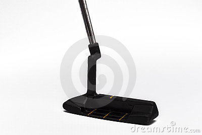Putter on white