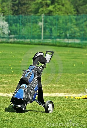 Free Putters In Golf Bag Stock Photos - 5186543