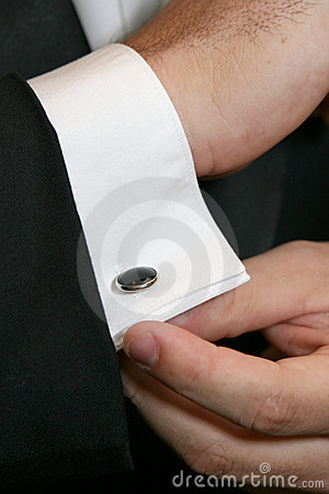 Putting On Cuff Links