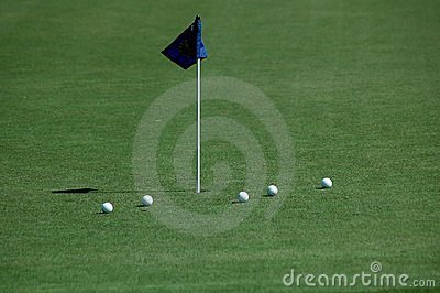 Putting Green Royalty Free Stock Image - Image: 531236