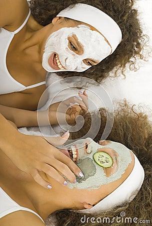 Putting puryfing mask