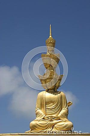 Free Puxian Buddha Statue Stock Photos - 6425263