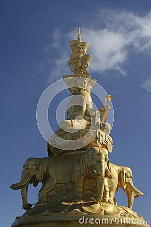 Free Puxian Buddha Statue Royalty Free Stock Photo - 6425475