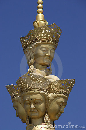 Free Puxian Buddha Statue Royalty Free Stock Photography - 6622067