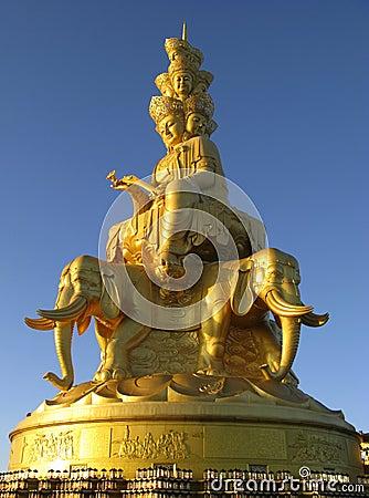Free Puxian Buddha Statue Stock Photo - 6622340