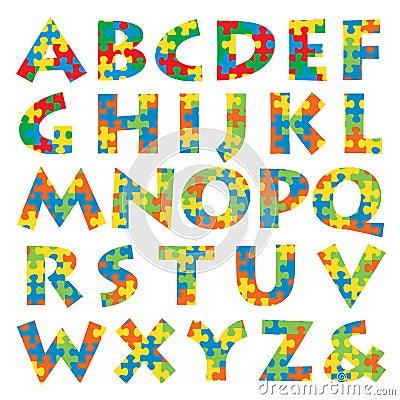 Free Puzzle Alphabet Royalty Free Stock Image - 10995726