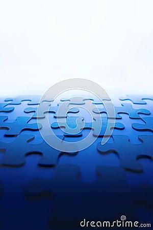 Free Puzzle Background Stock Image - 1653621