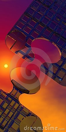 Free Puzzle Background Stock Photography - 6195162