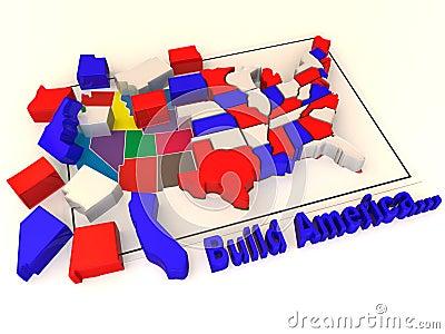Puzzle build USA