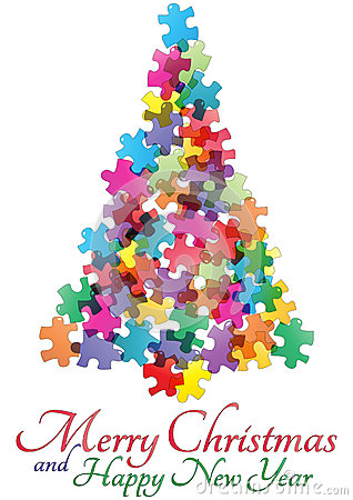 Christmas Tree Puzzle Game