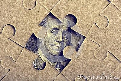 Puzzle del puzzle con Franklin