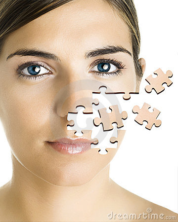 Free Puzzle Face Royalty Free Stock Photography - 1943807