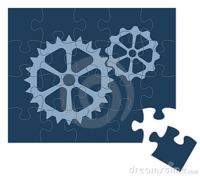 Puzzle gears