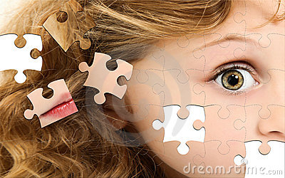 Puzzle Girl Face