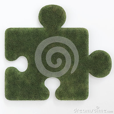 Puzzle grass