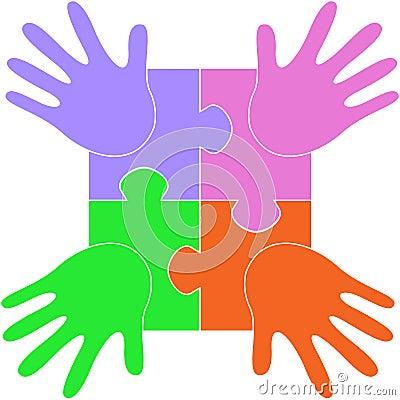 Puzzle hands