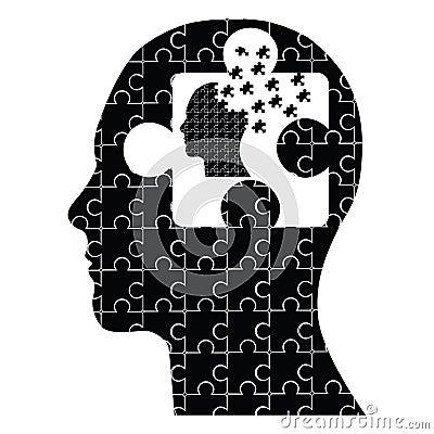 Puzzle head man