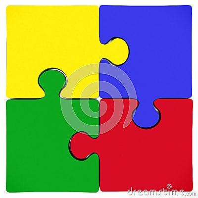 Free Puzzle Jigsaw Pieces Stock Photos - 10609603