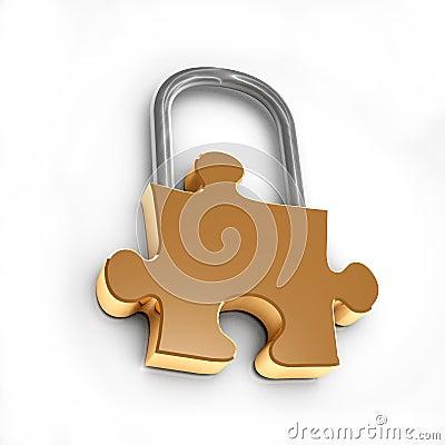 Puzzle lock