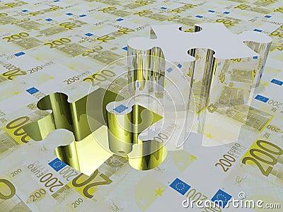 Puzzle piece Euro